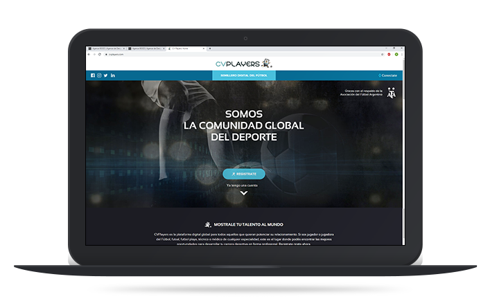 Site web de CVPlayers