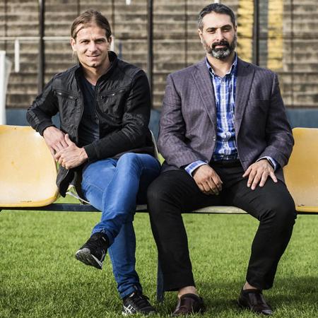Damian Acri et Abel Soriano, créateurs de CVPlayers